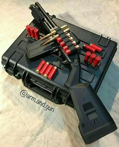 No automatic alt text available. Tactical Shotgun, Tactical Gear, Weapons Guns, Guns And Ammo, Rifles, Revolver, Armas Ninja, Hidden Gun, Tactical Equipment