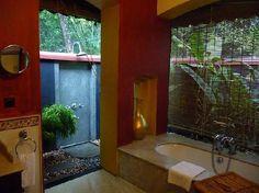 Lovely bathroom. Booking.com: Resort Taj Garden Retreat - Kumarakom, India
