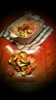 Layered Zucchini Eggplant Bake ***The recipe can be found at: https://www.facebook.com/groups/ammaraskitchen/permalink/677501135617646/  ***Please join my Facebook group-  https://www.facebook.com/groups/ammaraskitchen/