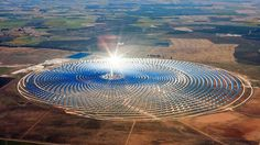 Morocco has activated the world's largest solar power plant in the Sahara desert, near the city of Ouarzazate. Noor-Ouarzazate power complex uses CSP which enables energy to be stored and used for nights and cloudy days.