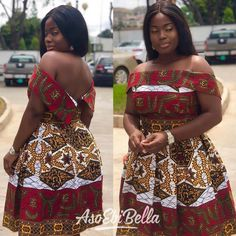 The complete collection of Exotic Ankara Gown Styles for beautiful ladies in Nigeria. These are the ideal ankara gowns African Dresses For Women, African Attire, African Fashion Dresses, African Women, Ankara Fashion, African Wear, Ankara Gown Styles, Ankara Dress, Ankara Blouse