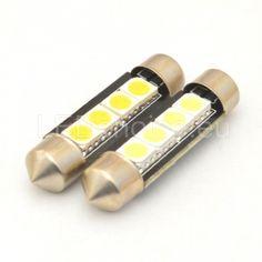 42mm-258-264 LED Car Bulb 4-SMD - LED Auto Lights   LEDchoice.eu