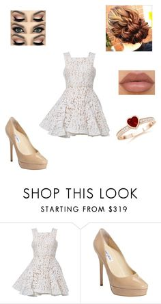 """""""You Meet Felix Again"""" by maryvarleyrox ❤ liked on Polyvore featuring Alex Perry, Jimmy Choo and NYX"""