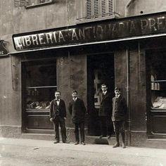 la Libreria Antiquaria Pregliasco di Torino agli inizi del Novecento