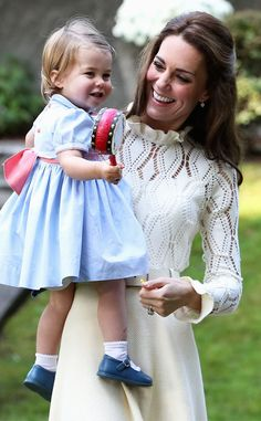 Prince William and Kate Middleton take their adorable royal children to party for families of Canadian military held on ground of British Columbia's Government House