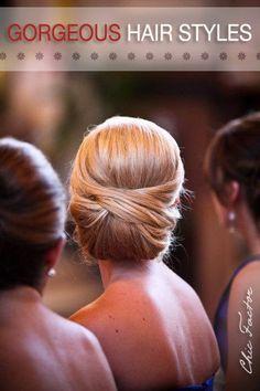 Gorgeous easy to do hairstyles!