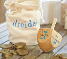 Teach your little one how to play this classic Hanukkah game with our My First Dreidel set. Complete with a dreidel, coins and a convenient bag to store it all in, they'll have so much fun collecting their winnings! Hanukkah Traditions, Hanukkah Gifts, Happy Hanukkah, Jewish Hanukkah, Kwanzaa, Holiday Wishes, Holiday Fun, Chocolate Coins, Festival Lights
