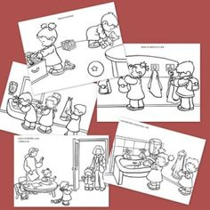 comportamiento en clase Spanish Teaching Resources, Spanish Activities, Activities For Kids, Spanish Songs, Bilingual Classroom, Elementary Spanish, Speech And Language, Pre School, Classroom Management