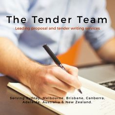 Tender Writing Service