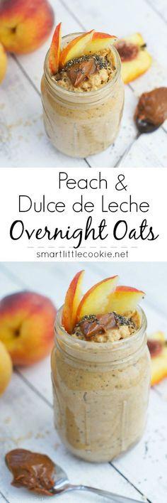 Peach and Dulce de L