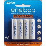 Sanyo Eneloop AA NiMH Pre-Charged Rechargeable Batteries - 8 Pack (Accessory)By Sanyo