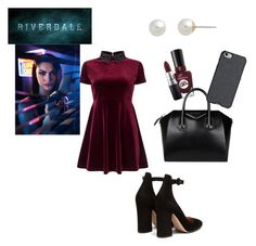 Veronica Lodge inspired outfit.Riverdale.See more on https://riverdalelifestyle.tumblr.com/