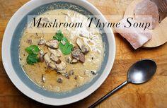 MushroomThymeSoup