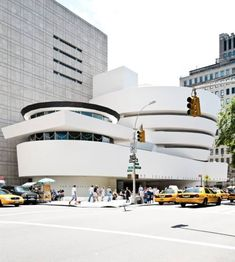 Guggenheim Museum, New York by Frank Lloyd Wright