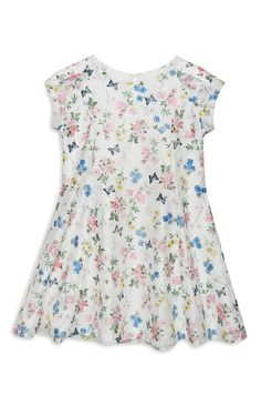 Young Girl Printed Lace Dress