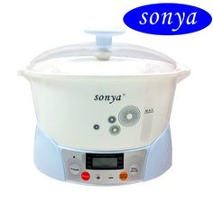 Bonus Pack Sonya Electric Ceramic Slow Stew Pot 3 in 12013 New >>> You can get more details by clicking on the image.