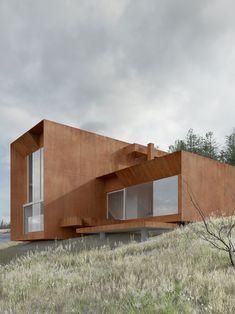 House in Chodzież, Poland, by Studio De.Materia