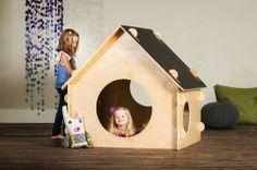 Chalkboard playhouse - sweet!
