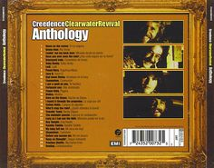 Caratula Trasera de Creedence Clearwater Revival - Anthology