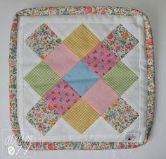 <3 Mini quilt by atelier077