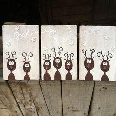 Handmade christmas decor   Kézzel festett karácsonyi dekor