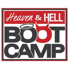 Heaven & Hell Bootcamp-the BEST 45 minutes you can spend improving yourself! You move the whole time and get the most out of each high impact circuit.