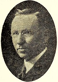 A photograph of Walter Murchison Gilmore published in 1930. Image from the Internet Archive.