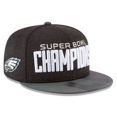 Philadelphia Eagles New Era Super Bowl LII Champions Parade 9FIFTY Snapback  Adjustable Hat – Black. Philadelphia Eagles Super BowlFlat Brim ... 703cc833b