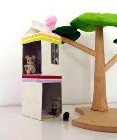 Little Tetrapak house