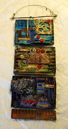 klistersøster: Triptych Wallhanger