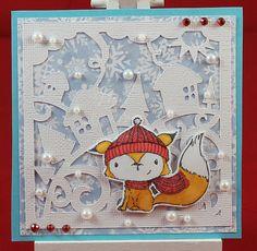 Tinas kreative Seite - #5 von 24 Squares for Christmas