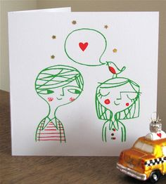 Lisa Stubbs Christmas Love Card $5.67
