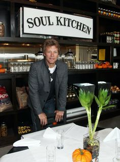 Bon Jovi- Soul Kitchen:: 21 Restaurants You Didn't Know Were Celebrity Owned | The Savory