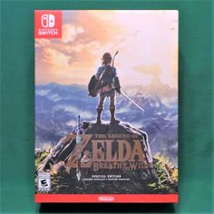 The Legend of Zelda Breath of the Wild Special Edition (Nintendo Switch) Sealed 45496590369 Nintendo Switch Pokemon Games, Buy Nintendo Switch, Legend Of Zelda Breath, Breath Of The Wild, Super Nintendo, Letting Go, Pikachu, Video Games, Baseball Cards