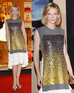 Louis Vuitton Dresses | Cate Blanchett in Louis Vuitton @ Maison Louis Vuitton Roma Etoile ...