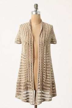 great for summer and fairly easy to crochet...