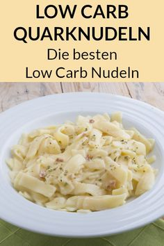 These low carb noodles are perfect when you lose weight as low carbohydrates. - These low carb noodles are perfect as a low-carb supplement when you lose weight. Here you will fin - Healthy Protein, Protein Foods, Keto Snacks, Healthy Snacks, Low Carb Nudeln, Low Carb Noodles, Low Carb Recipes, Healthy Recipes, Low Carb Lunch