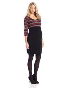 Three Seasons Maternity Women's Stripe Top Dress with Belt, Black/Grey/Red, Large Three Seasons Maternity,http://www.amazon.com/dp/B00EVT9CDC/ref=cm_sw_r_pi_dp_Y4q8sb0JT3BJG9CK