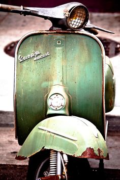 There's something about a well worn, well designed piece of machinery...the patina adds to the glory...it doesn't take away from it.