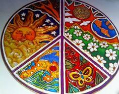 Mandalas en vidrio - Geometrias del Alma