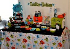 monster party     Kara's Party IdeasKara's Party Ideas