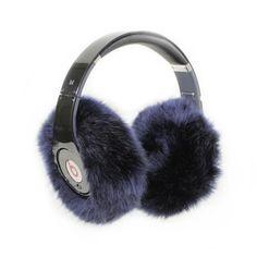 Awesome gift: Earmuffies are faux fur headphone earmuff cover.