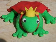 Fondant Frog Prince Cake Topper. $8.00, via Etsy.