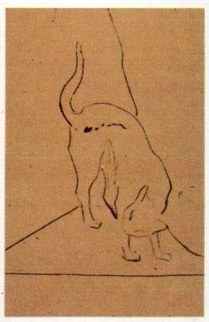 An Interpretation of the Cat |Picasso http://pinterest.com/envygossip/trends-to-envy-black-cat/