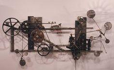 AndrewSmithArt on etsy kinetic wall art
