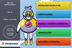 Vulcano lança app pedagógica para crianças