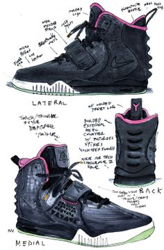 info for 6343e 12987 nathan vanhook nike air yeezy 2 1 Air Yeezy 2, Sneakers Sketch, Sneaker Art