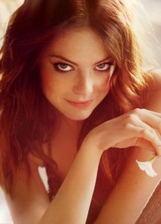 Emma Stone-One of the few young actresses I kind of like