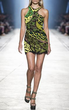 Versace Spring Summer 2016 Look 55 on Moda Operandi