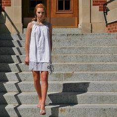 upcycled clothing . shift dress . atlantic mist by pondhopper, $88.00